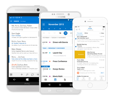 Course Image How to connect email in your mobile outlook